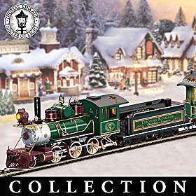 Thomas Kinkade Christmas Express Train Collection