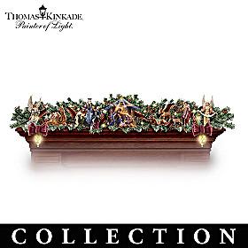 Thomas Kinkade Nativity Garland Collection