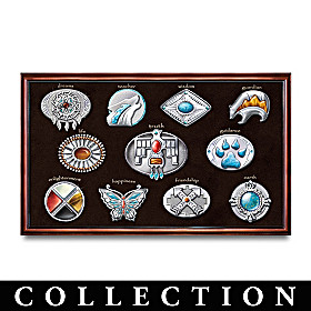 The Sacred Spirits Belt Buckle Collection