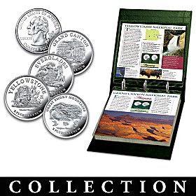 U.S. National Parks Quarters Coin Collection