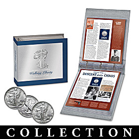 The Complete Walking Liberty Silver Half Dollar Collection