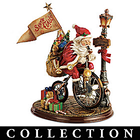 Santa's Race Against Time Figurine Collection