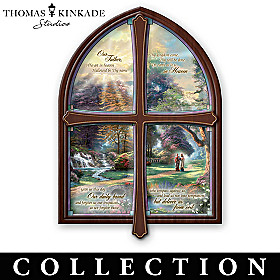 Thomas Kinkade Windows Of Prayer Collector Plate Collection