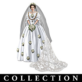 Royal Fashions Of Queen Victoria Figurine Collection