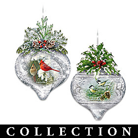 Winter Wildlife Ornament Collection