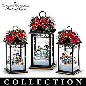 Sparkling Snowfall Table Centrepiece Collection