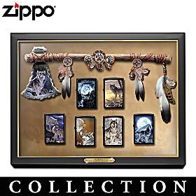 Al Agnew Tribal Lights Zippo Lighter Collection