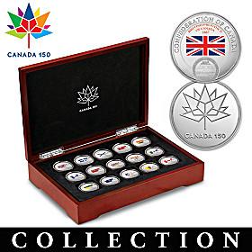 Confederation Of Canada Medallion Collection