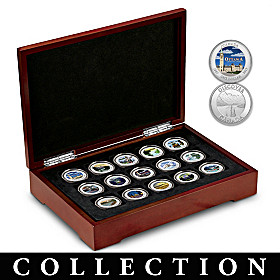 Canadian Provincial Poster Medallion Collection