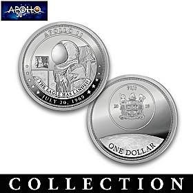 The Apollo 11 50th Anniversary Dollar Coin Collection