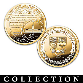 Charter Of Rights And Freedoms Proof Coin Collection