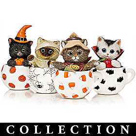 Purr-fect Brew By Kayomi Harai Figurine Collection