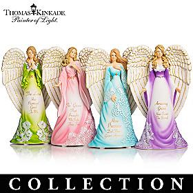 Thomas Kinkade's Amazing Grace Angels Figurine Collection