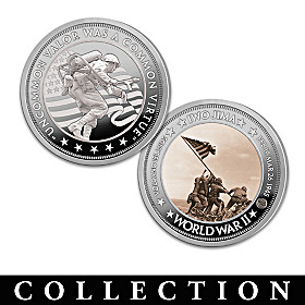 The American Battles Of The Pacific Theatre Coin Collection
