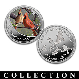 The Songbirds Of America Proof Coin Collection