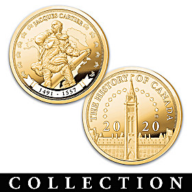 Canada: History And Heritage Proof Coin Collection