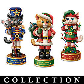 A Meowwy Little Christmas Sculpture Collection