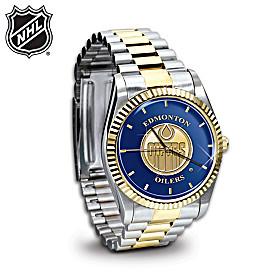 NHL® Edmonton Oilers® Men's Watch