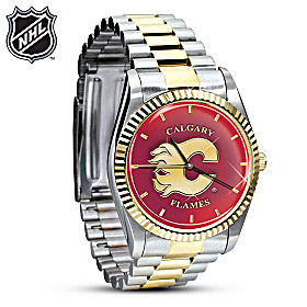 NHL® Calgary Flames® Men's Watch
