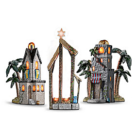 Holy Night Nativity Scene Accessory Figurine Set