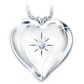 Always And Forever Locket Pendant Necklace