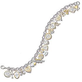 Ultimate Granddaughter Charm Bracelet