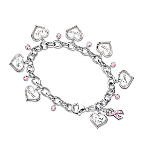 Circle Of Hope Charm Bracelet