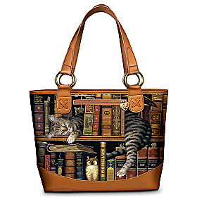 Frederick The Literate Tote Bag