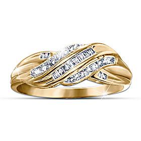 Diamond Embrace Eternity Ring