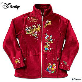 Disney Magic Of Christmas Fleece Jacket