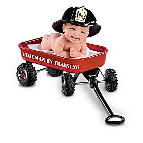 Fireman In Training Baby Doll
