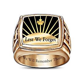 Lest We Forget Men's Ring
