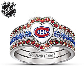 Montreal Canadiens® Women's Ring