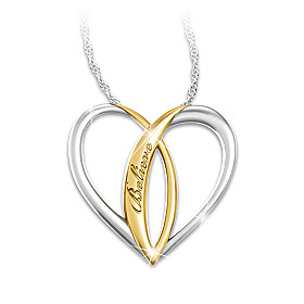 Blessed Daughter Pendant Necklace