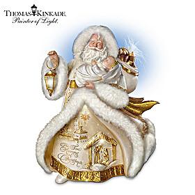 Thomas Kinkade Spirit Of The Season St. Nicholas Figurine