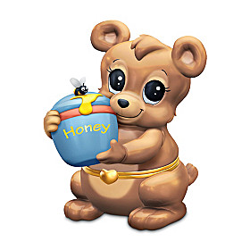 Granddaughter, You're My Honey Bear Music Box