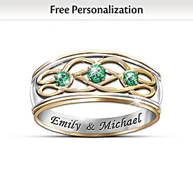 Unity Of Love Personalized Ring