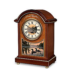 Evening Harmony Carriage Tabletop Clock