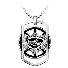 Ride Forever Pendant Necklace