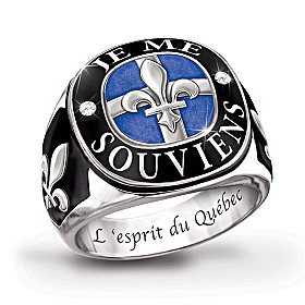 The Spirit Of Quebec Men's Ring