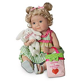 Grandma Is Somebunny To Love Child Doll