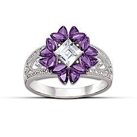 Twilight Lavender Ring