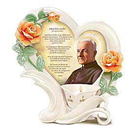 St. Brother Andre Votive Candleholder