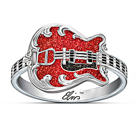 Elvis '68 Comeback Special Ring