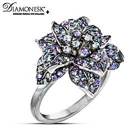 Midnight Rose Ring