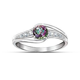 Mystic Enchantment Topaz Ring