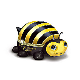 Daughter, You're Cute As Can Bee Music Box