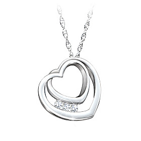 Daughter, I'll Love You Forever Pendant Necklace