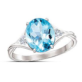 True Blue Ring