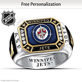 Winnipeg Jets™ Personalized Ring